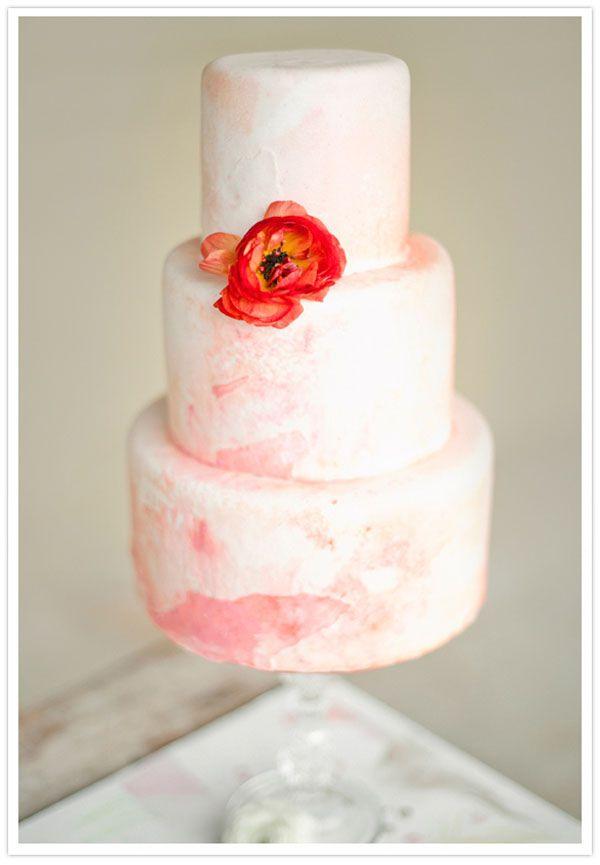 watercolor party  {via cake chooser}: Watercolor Wedding, Watercolor Poppies, Ideas, Watercolor Cakes, Watercolors, Weddings, Wedding Cakes, Cakes Design, Weddingcak