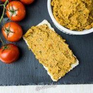 zdrowa pasta do kanapek z soczewicy i pestek dyni