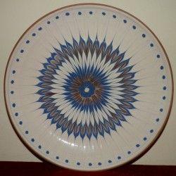 Farfurie ceramica de Horezu, calitatea I (12)