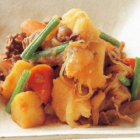 こっくり肉じゃが   笹岡隆次さんの肉じゃがの料理レシピ   プロの簡単料理レシピはレタスクラブニュース