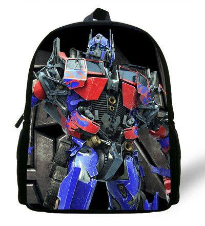 12-inch Bumblebee School Bags Mochilas Transformers Backpacks Boys Favourite Cartoon Bag Transformers.