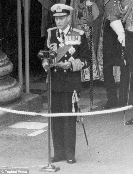 King George Vi Funeral | ... in The King's Speech about the quack who cured George VI | Mail Online