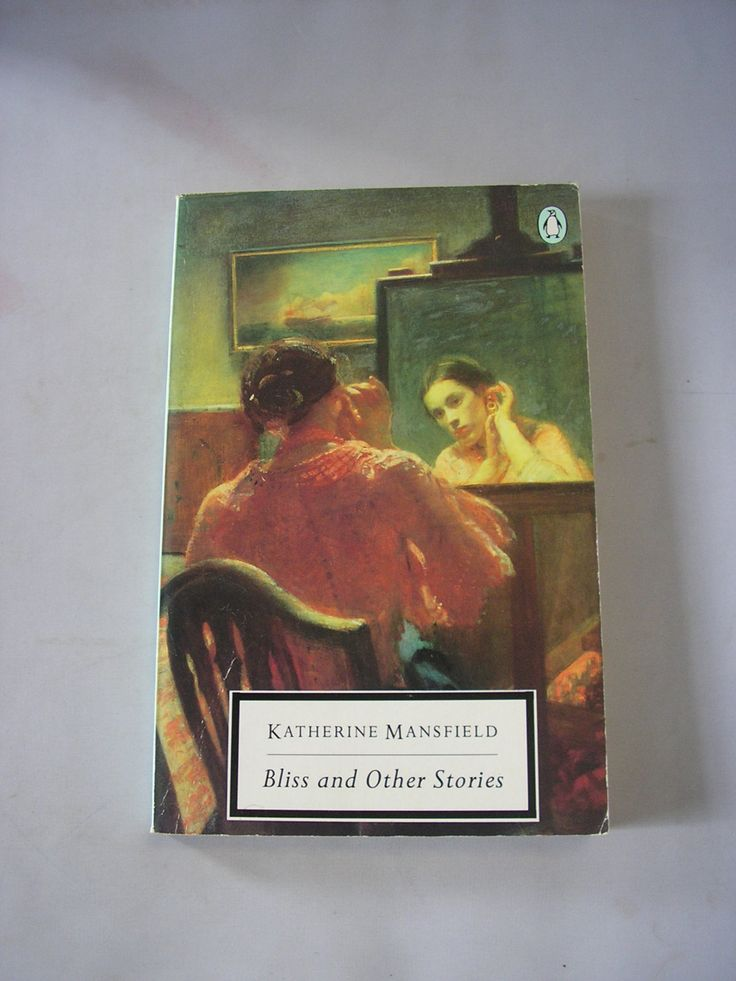 Bliss and other Stories Katherine Mansfield paperback short stories english literature fiction modernist writer new zealand London by IrishBarnVintage on Etsy