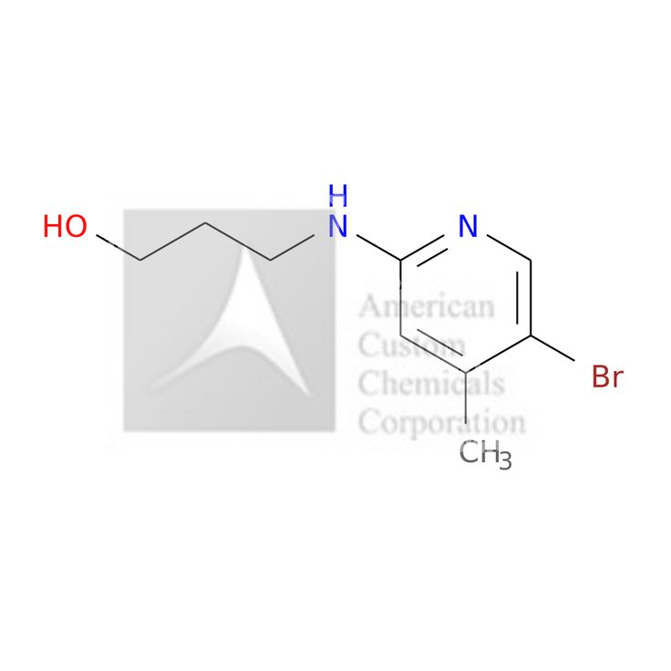 3-[(5-BROMO-4-METHYL-2-PYRIDINYL)AMINO]-1-PROPANOL is now  available at ACC Corporation