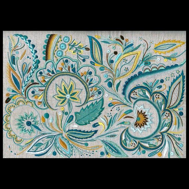 Ce Glazig aux tons très doux est l'œuvre de Mathilde Hamon, élève à Quimper.