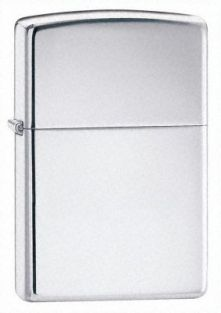 Plain siver zippo style lighter for travelling/camping