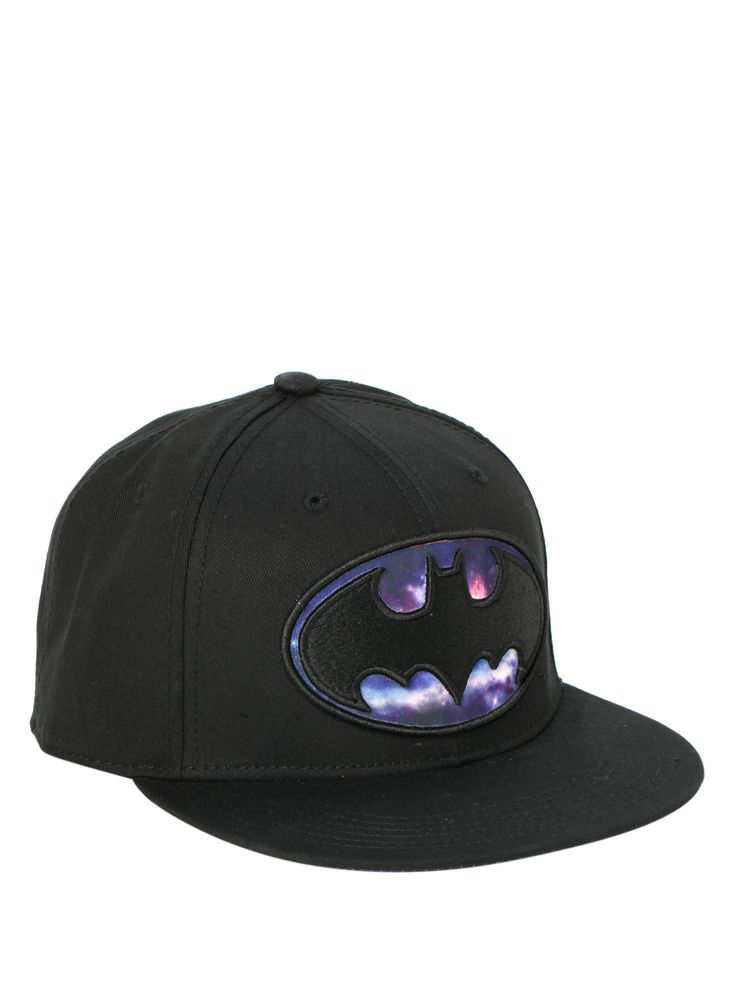 DC Comics Batman Galaxy Logo Snapback Hat | Hot Topic. My third choice