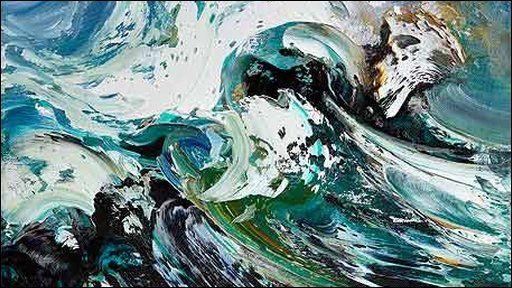 BBC - Maggi Hambling's sea paintings & the Aldeburgh Scallop