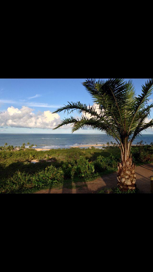 Vista para o mar do Quadrado em Trancoso - Brasil   http://imoveismlara.wordpress.com/  http://www.marcelolara.com.br
