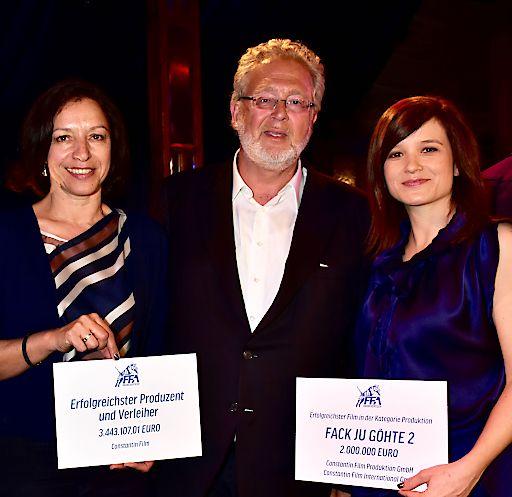 Doppelter Branchentiger: Constantin Film 2015 erfolgreichster Produzent und Verleiher deutscher Filme