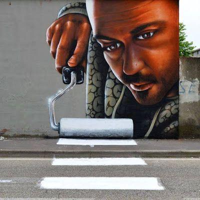 "Cheone da IL RAMO D'ORO ""Street Art"" https://ilramodoro-katyasanna.blogspot.it/2013/11/street-art.html"
