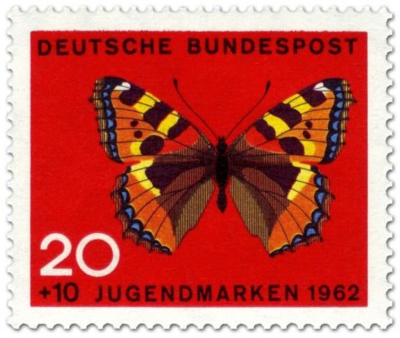 Butterfly Stamp Us Postage Stamps | stamp / germany /1962 / deutsche bundespost / butterfly
