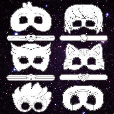 Printable coloring pj masks