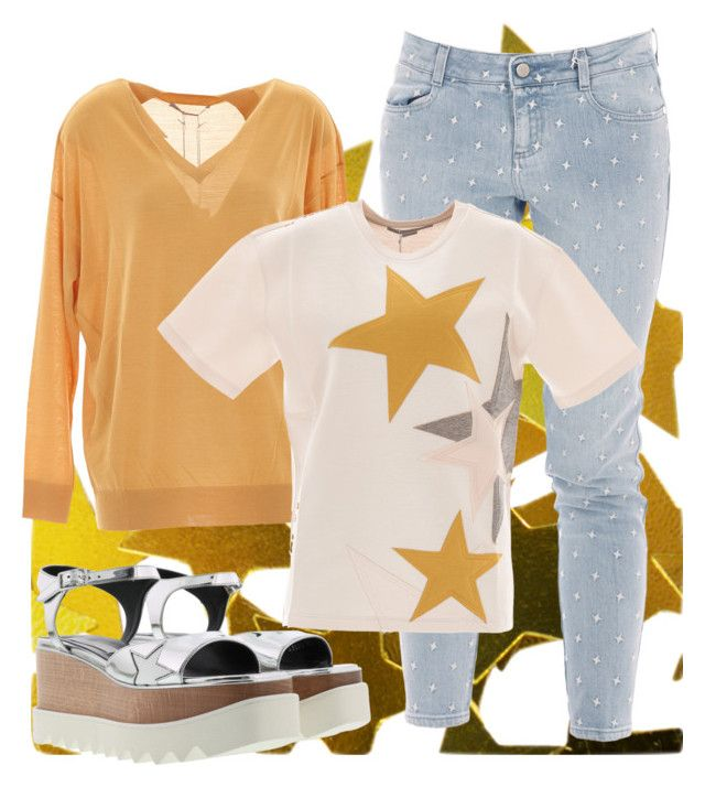 Stars! by brunarosso-eshop on Polyvore featuring moda