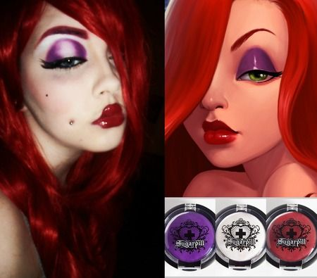 Jessica Rabbit https://www.makeupbee.com/look.php?look_id=98671