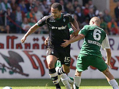Zum Saisonabschluss gab es eine Niederlage gegen den SV Werder Bremen. (19.05.2007)