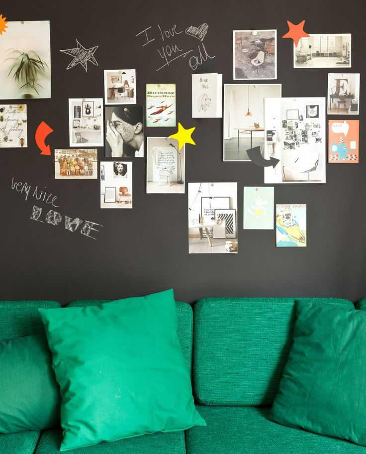 Magnetic Chalkboard Wallpaper - Groovy Magnets