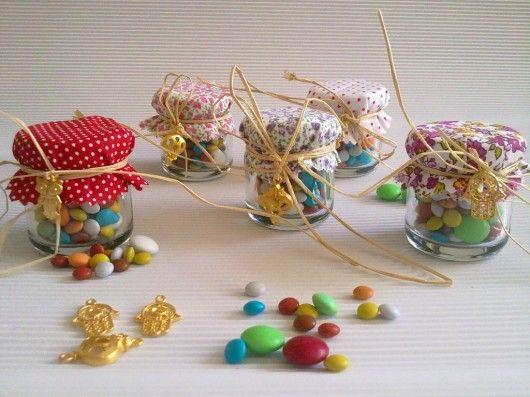 Bu minik kavanozlar doğum günü partilerinde veya bebek mevlütlerinde sevdiklerimize hediye etmek üzere hazırlandı....