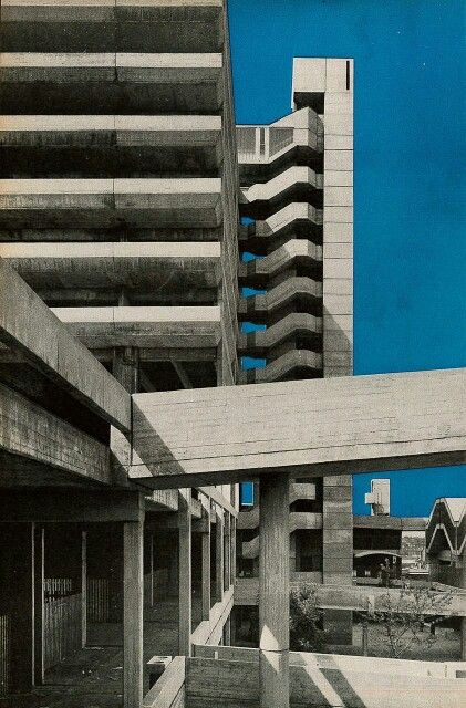 Trinity Square, Gateshead - Rodney Gordon/Owen Luder Partnership - Now demolished.