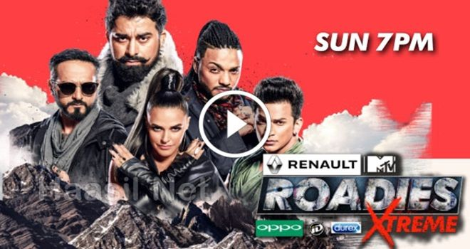 Video watch online MTV Roadies Xtreme 16th June 2018 full