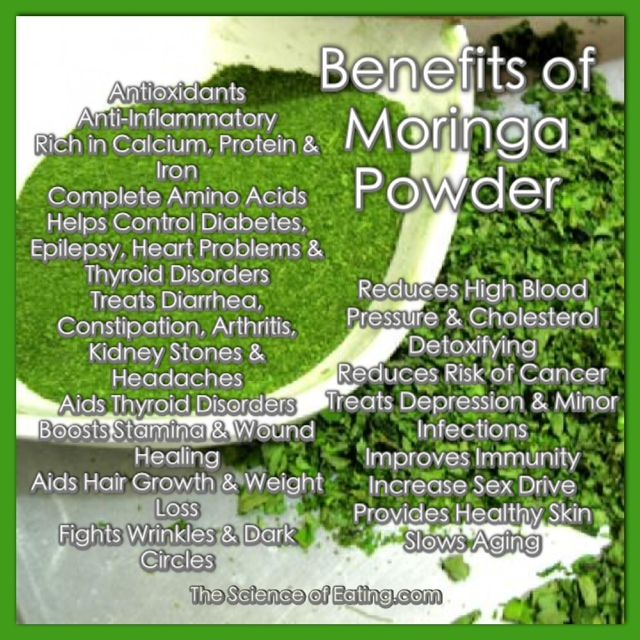 Health BENEFITS of MORINGA Powder <3 ;)*                                                                                                                                                                                 More
