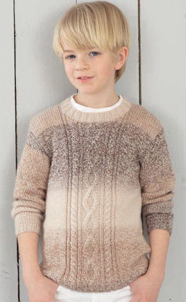 Round Neck And V Neck Sweaters In Hayfield Bonus Baby