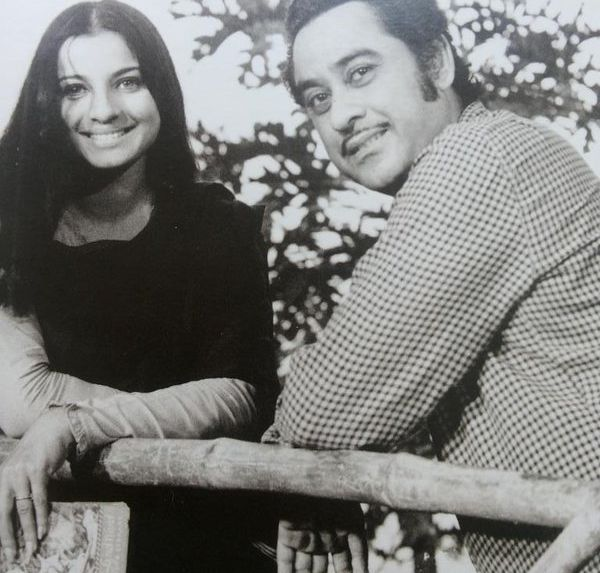 Tanuja and Kishore Kumar.