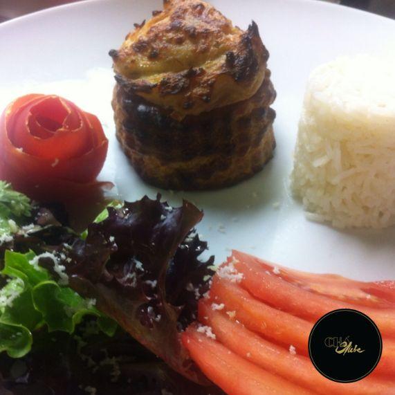 Delicioso Vol-au-vent de pescada. Para o melhor almoço no Porto. Delicious Vol -au -vent of fish. For the best lunch at Porto.