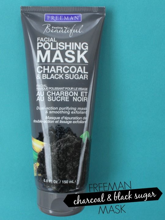 Freeman Charcoal and Black Sugar Mask Me-- Besides microdermabrasion creams, this is the best store-bought scrub I've ever used and it's only about $4.