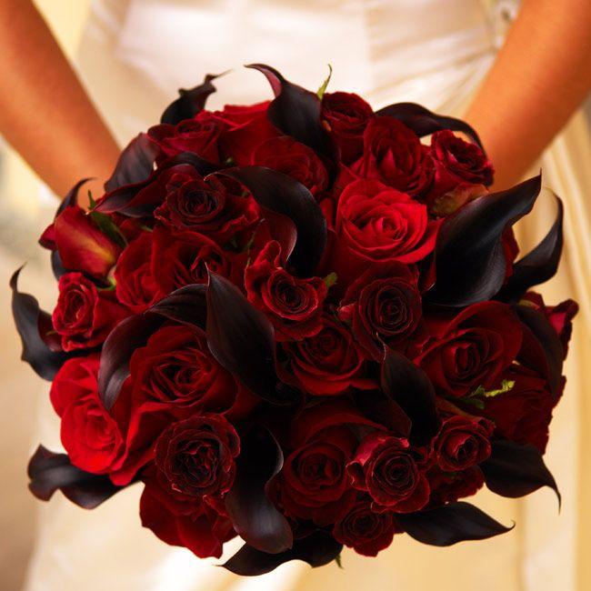 Halloween Wedding Bouquets: 22 Best Images About Creepy Elegant Wedding Shenanigans
