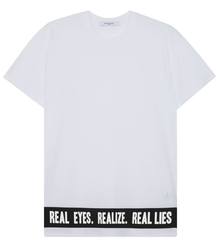 GIVENCHY REALIZE PRINTED CREWNECK T-SHIRT