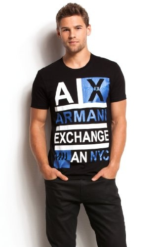 Armani Exchange Logo Stacked T-shirt