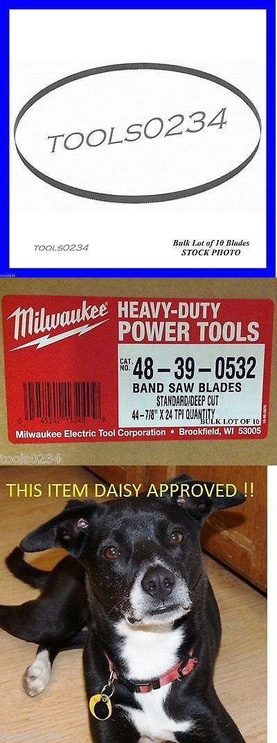 Band Saws 177016: Milwaukee 48-39-0532 44-7 8 24 Tpi Band Saw Blade Lot Of 10 Bulk Fits 6232-6 -> BUY IT NOW ONLY: $45.75 on eBay!