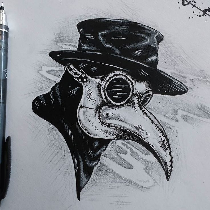 Fresh WTFDotworkTattoo Find Fresh from the Web #victorian #plague #plaguedoctor…