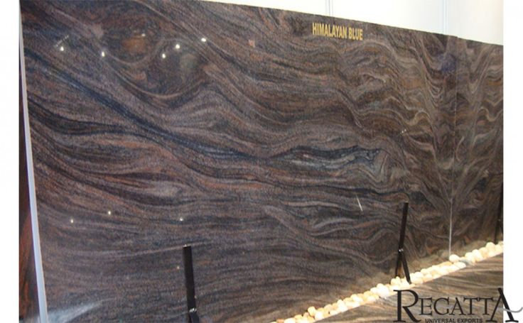 #HimalayanBlueGranite : Himalayan blue #granite slabs offers many solutions for your next home project. Buy from Indian granite exporters