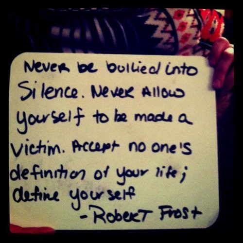 Famous Bullying Quotes: 31 Best Bullying Images On Pinterest