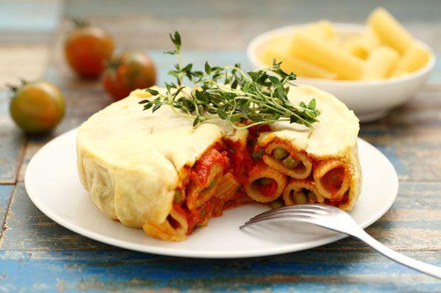 Timballo di maccheroni #MenudellaSettimanaCirio #Cirio #ricetta #recipe #primoitaliano #italianrecipe #cuoreitaliano