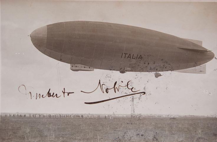 Festival del Volo - Mostra fotografia del dirigibile 'Italia', autografata da Umberto Nobile, precipitato sul Pack.
