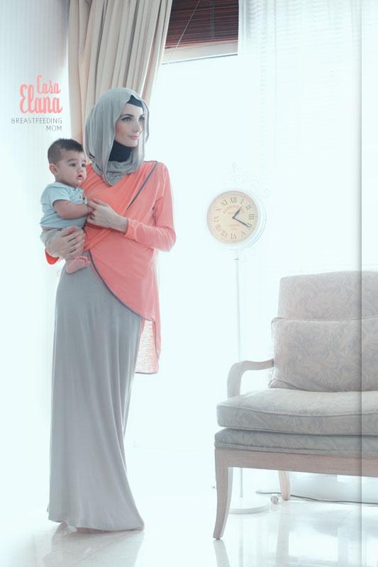 Casa Elana Breastfeeding Mom