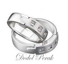 cincin kawin perak murah