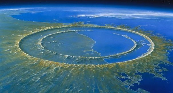 Asteroid Impact, 364 Million Years Ago - Western Australia