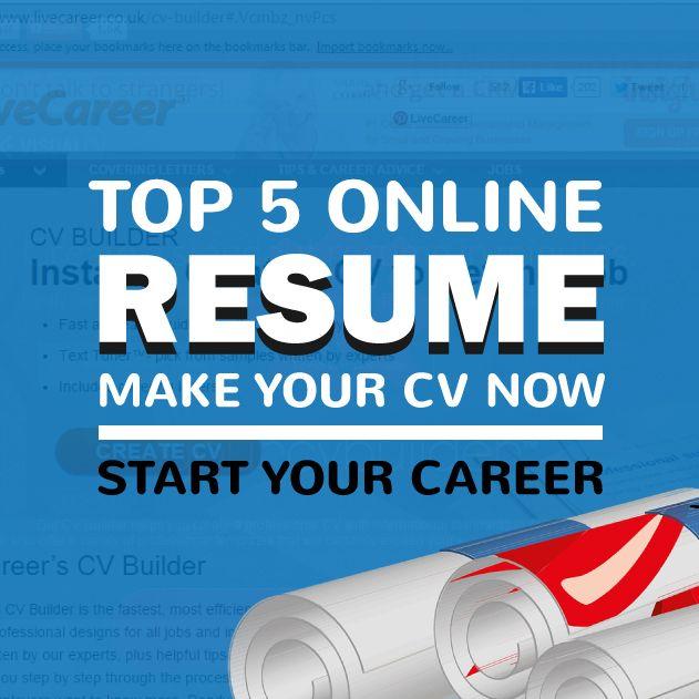 online resume builder - Online Resume Builder For Free