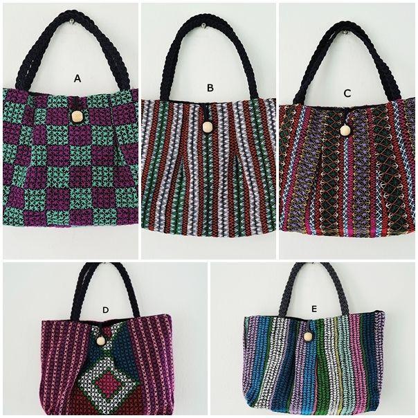 Ethnic Handbag Beautiful Embroidery Hmong Handmade Bags THAI Purses Women New S #Unbranded #HandbagEmbroidery