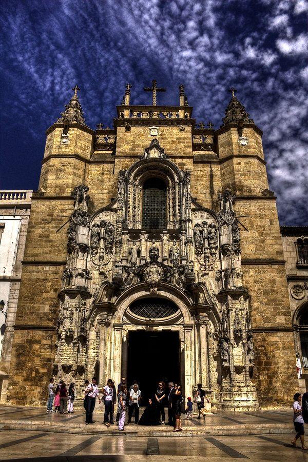 Igreja de Sta. Cruz-Coimbra #Portugal