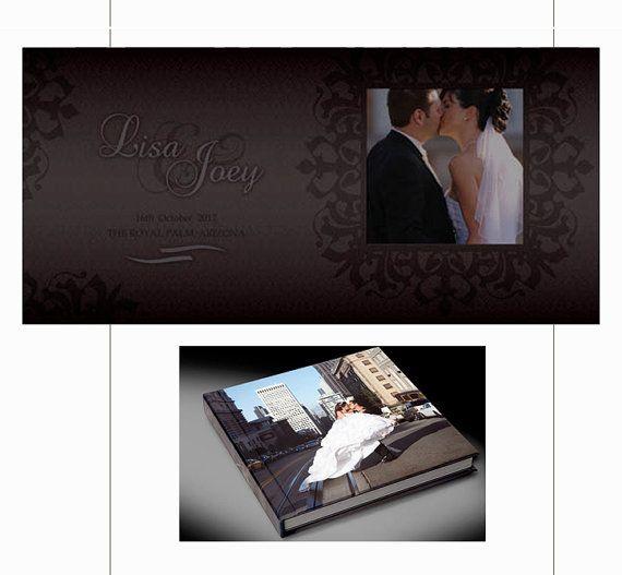 Photo Album Design Custom Wedding Album  by TheDesignsEnchanted