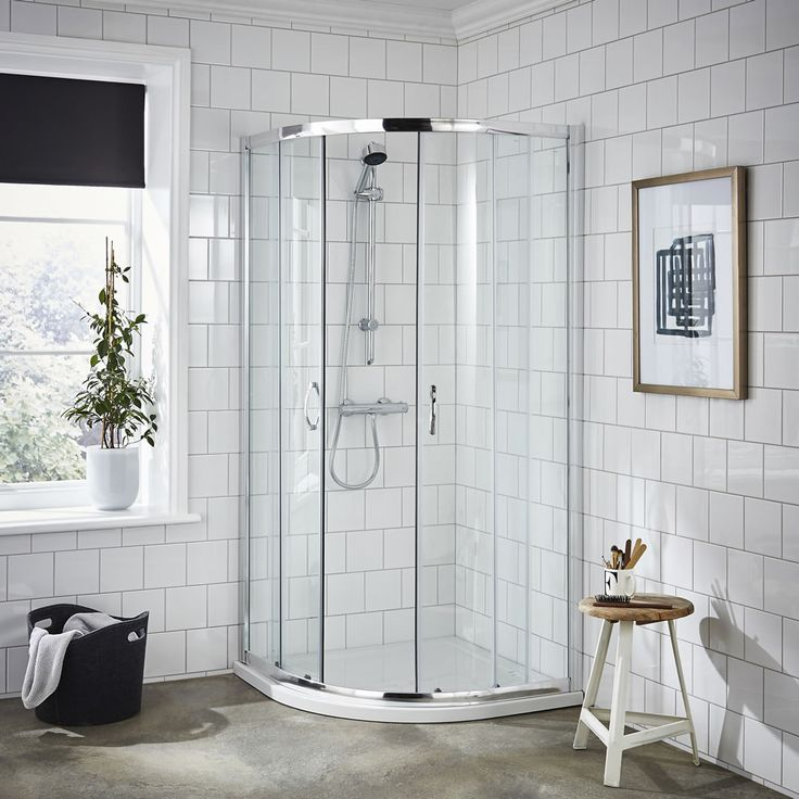 The Shower Enclosure Buyer's Guide  #shower #enclosure #buy #guide #ideas #inspiration #howto #purchase #bathroom