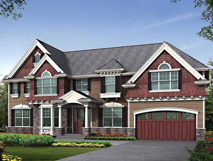 Craftsman House Plan With 3785 Square Feet And 5 Bedrooms From Dream Home  Source | House
