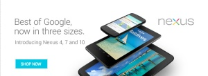 Google's Nexus 4 Smartphone Sells Out In U.K. Within Hours Of Going On Sale; 32GB Nexus 10 Tablet Also Out Of Stock