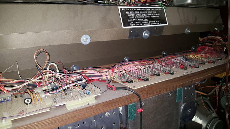 Baldwin C630t Organ Electronics