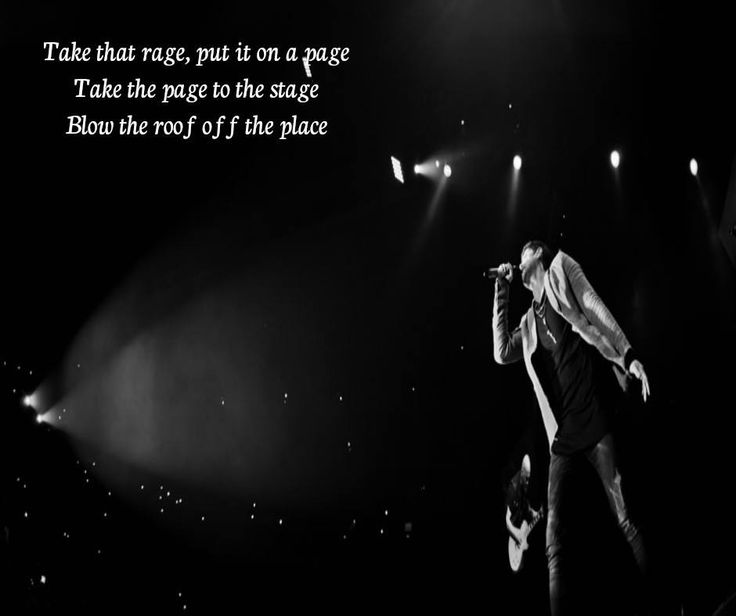 The Script - Blow the roof of the place edit